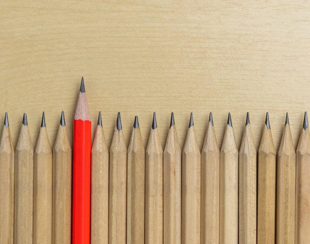 Sharpen a pencil