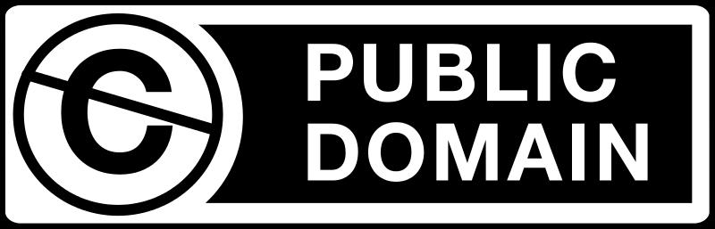 Public Domain Sign