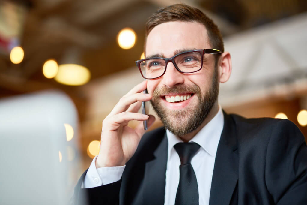 Male caller customer